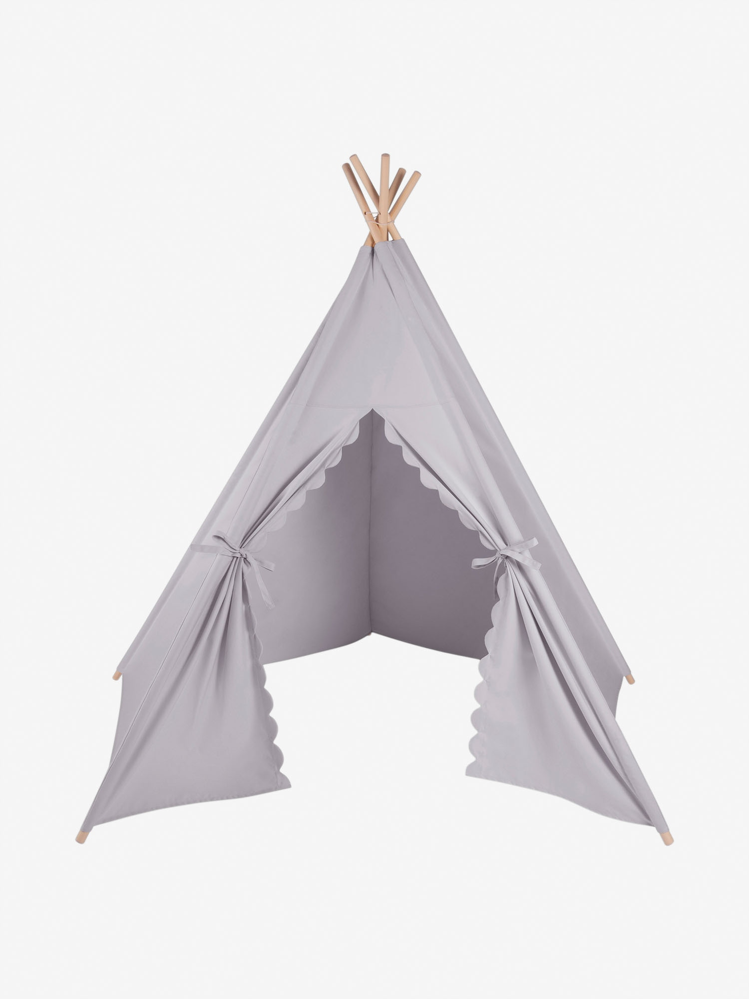 The Little Green Sheep Teepee Play Tent Grey