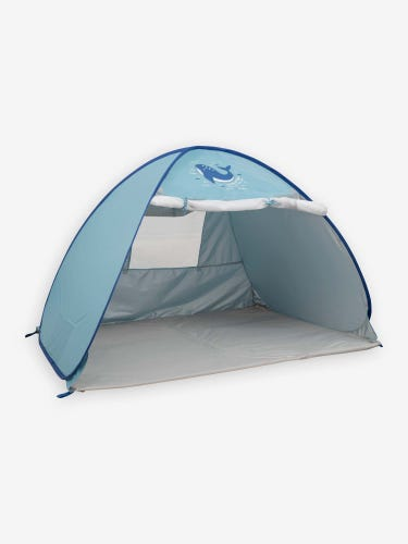 Infant Sized Sun Protection Tent with Mosquito Net