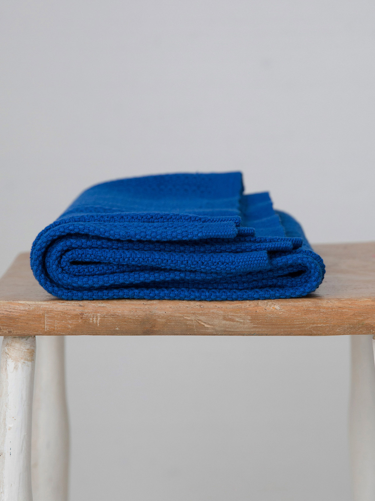 Hippychick Cellular Baby Blanket - Classic Blue