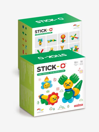 Magformers Stick-O 16-Piece Forest Friends Set