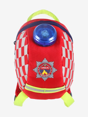 Littlelife Fire Engine Toddler Backpack
