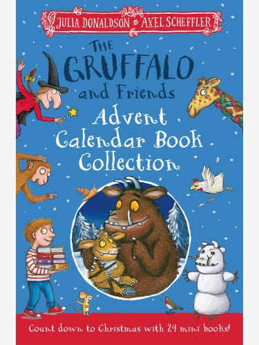 The Gruffalo and Friends Advent Book Collection