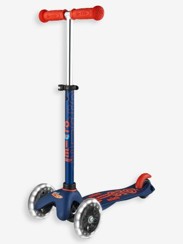 Mini Micro Deluxe LED Scooter Navy