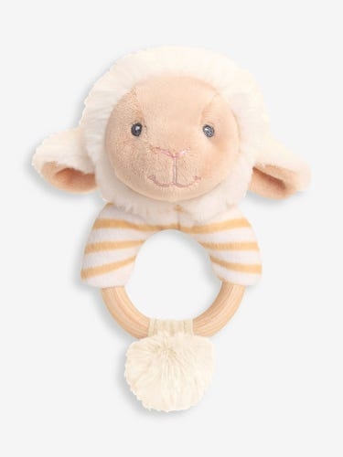 Keeleco Lullaby Lamb Ring Rattle