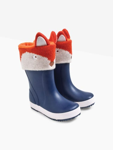 Fox Knitted Wellie Liners