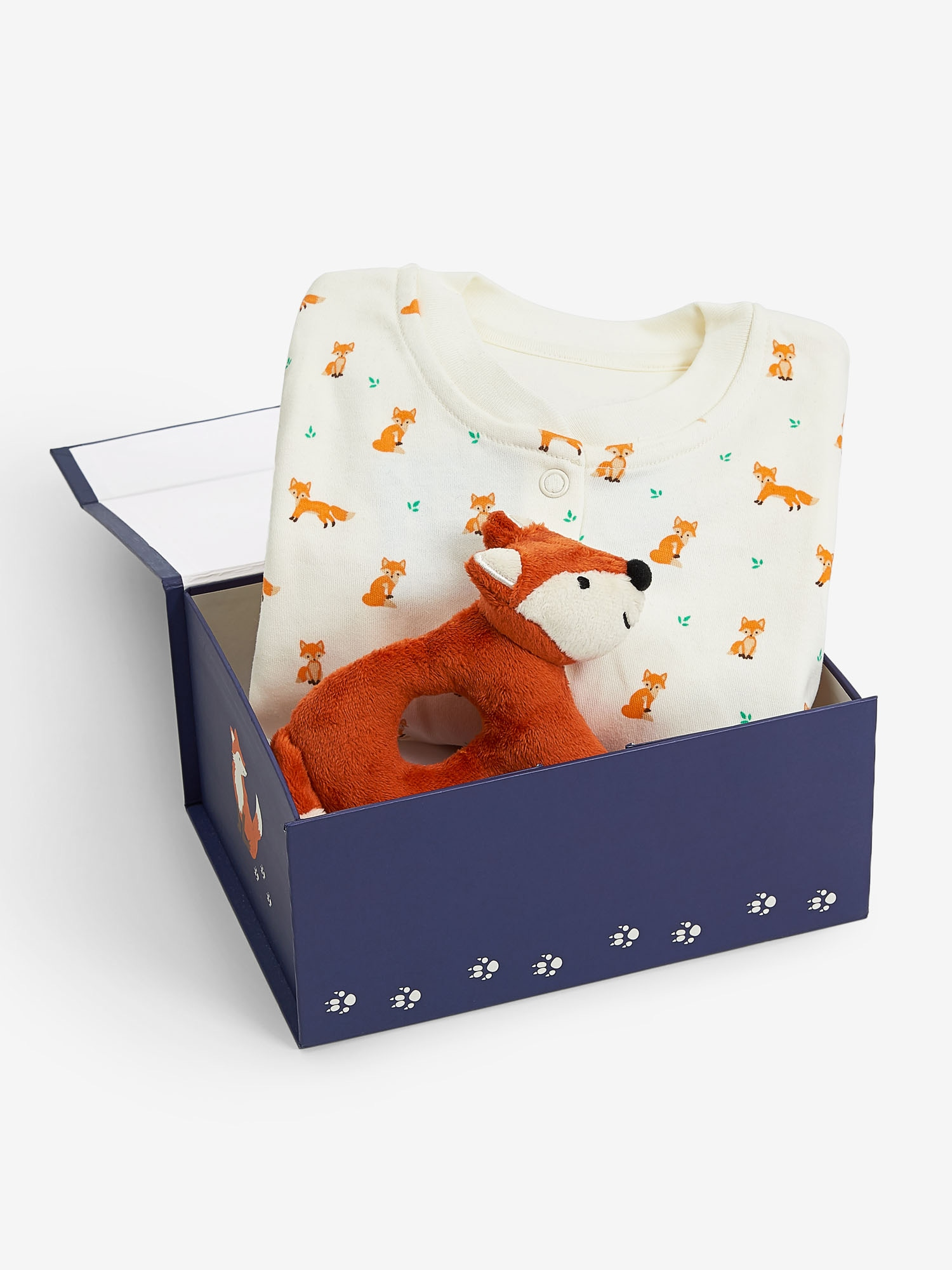 New Baby Fox Gift Set 0-3 Months