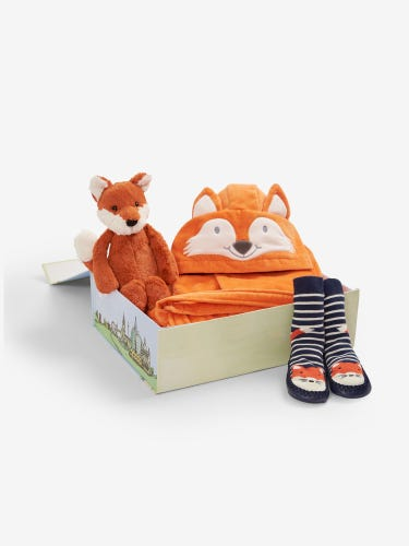 Bedtime Fox Gift Set 1-2 Years