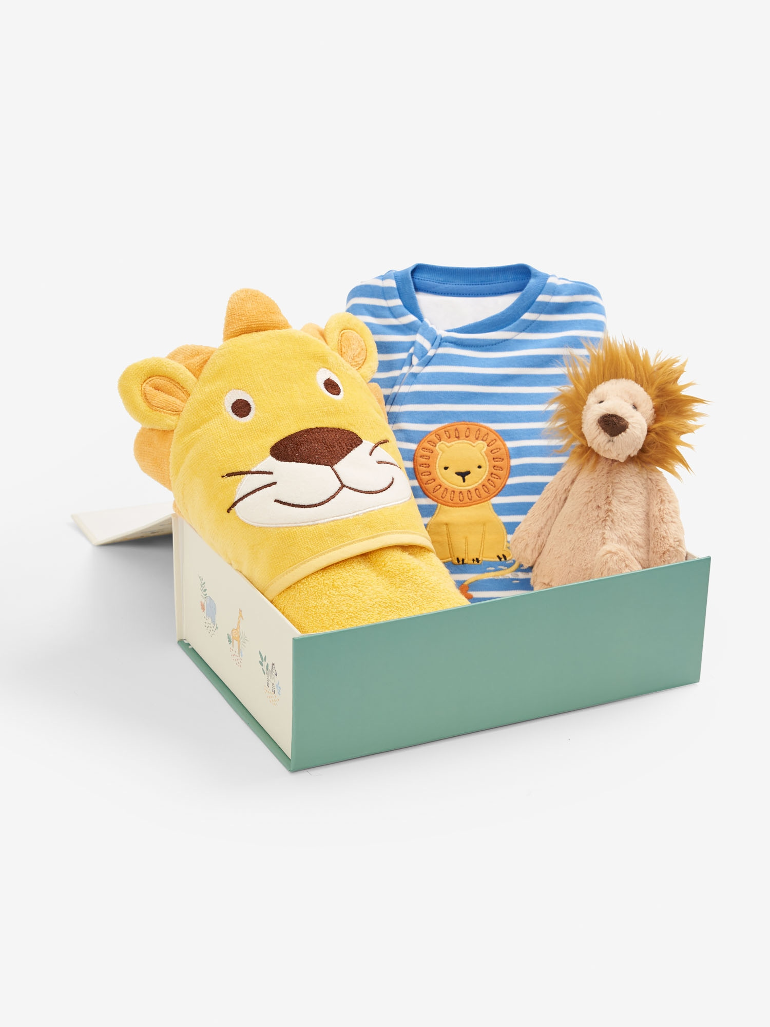 Baby Products Bath and Bedtime Lion Gift Set 0-3 Months