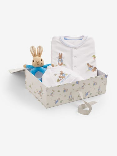 Peter Rabbit Rattle Gift Set 0-3 Months