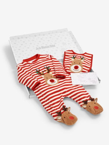 Reindeer Letter Box Baby Gift Set 0-3 Months
