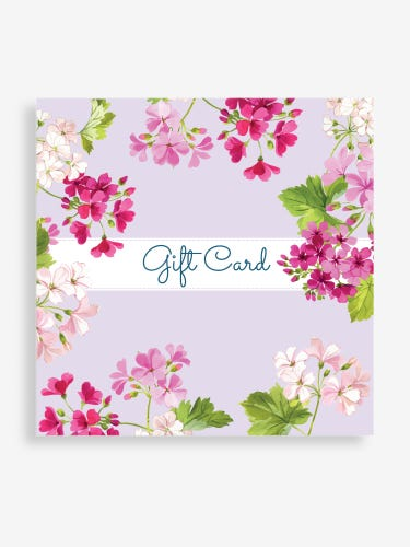 Lilac Floral Email Gift Card