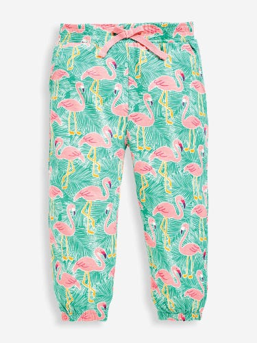 Girls' Pretty Green Flamingo Trousers