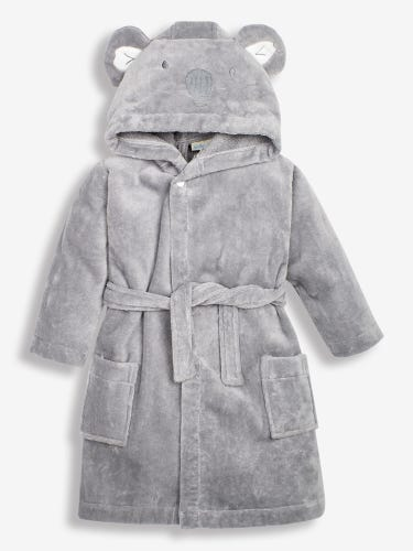 Grey Koala Towelling Robe