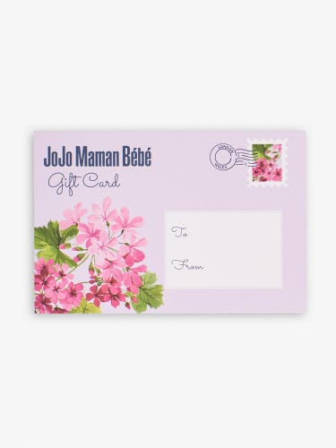 Lilac Floral Gift Card - Printed