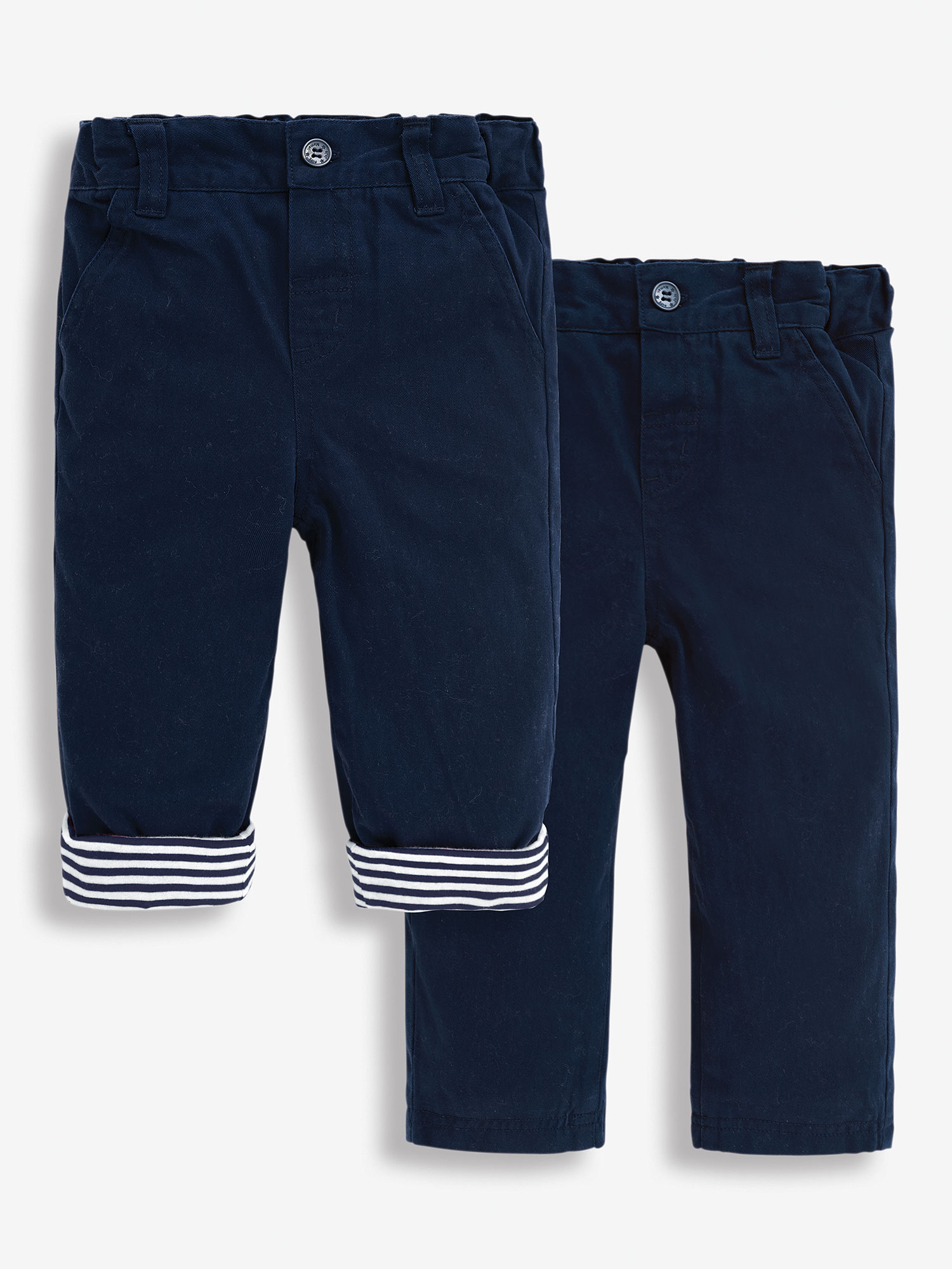 Boys' Jersey Lined Twill Trousers