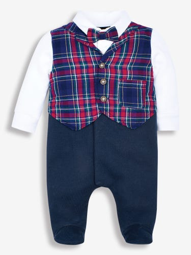 Smart All-In-One Waistcoat Outfit