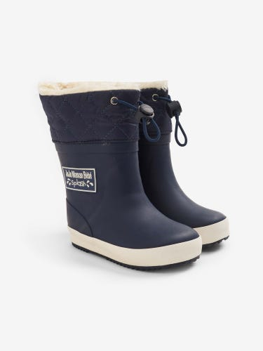 Cosy Lined Drawstring Top Wellies