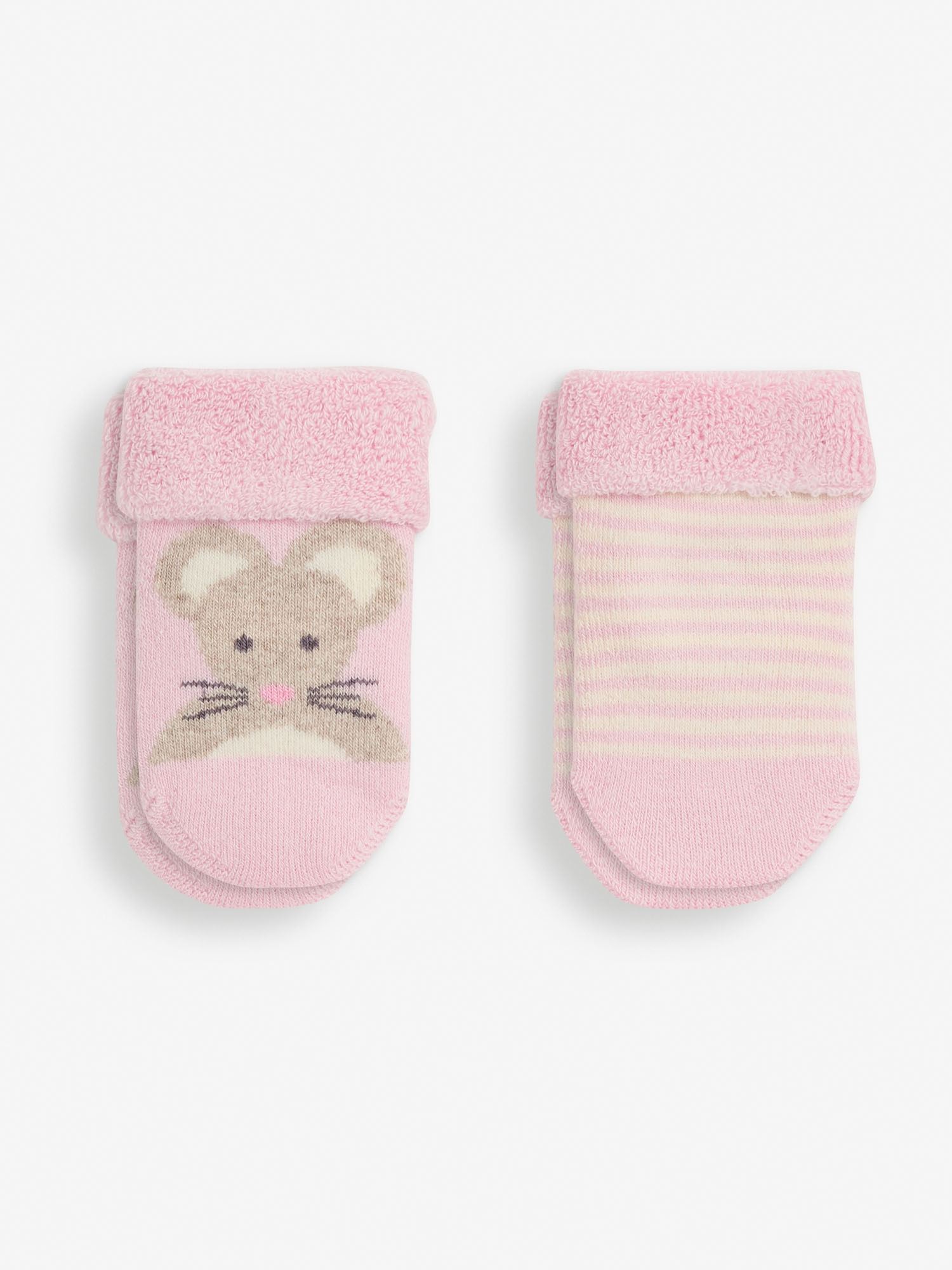 2-Pack Mouse Baby Socks