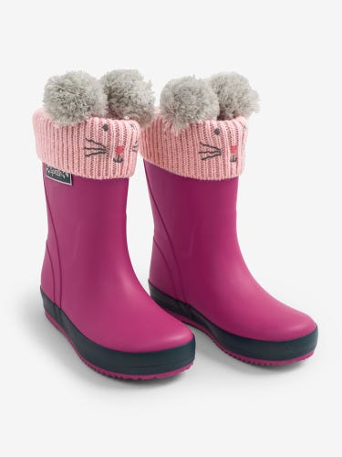 Pink Mouse Wellie Liners