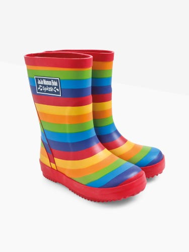 Classic Striped Wellies