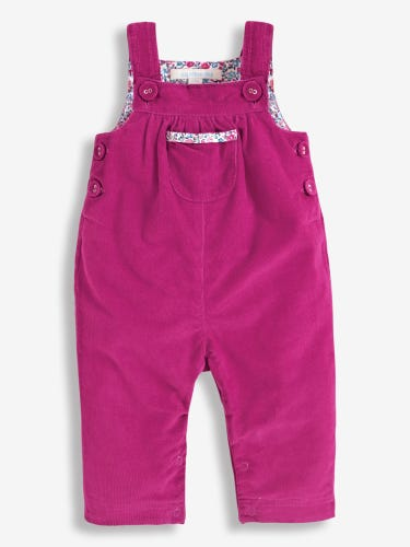 Pretty Cord Baby Dungarees