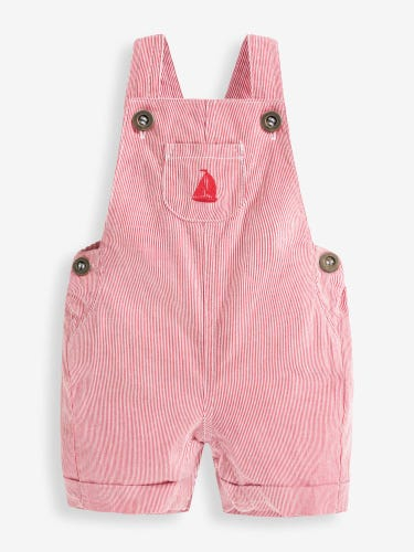 Boat Stripe Baby Dungarees
