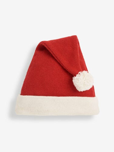 Kids' Father Christmas Knitted Hat