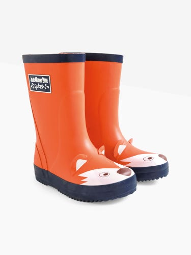 Rust Fox Wellies