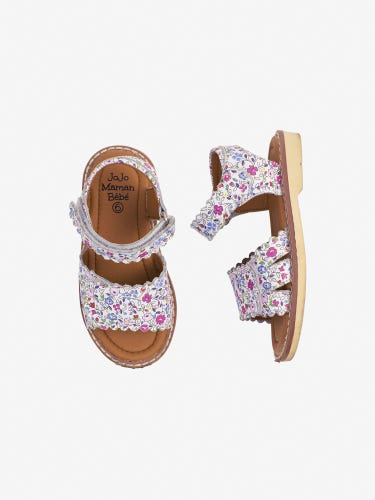 Girls' Pretty Leather Sandals