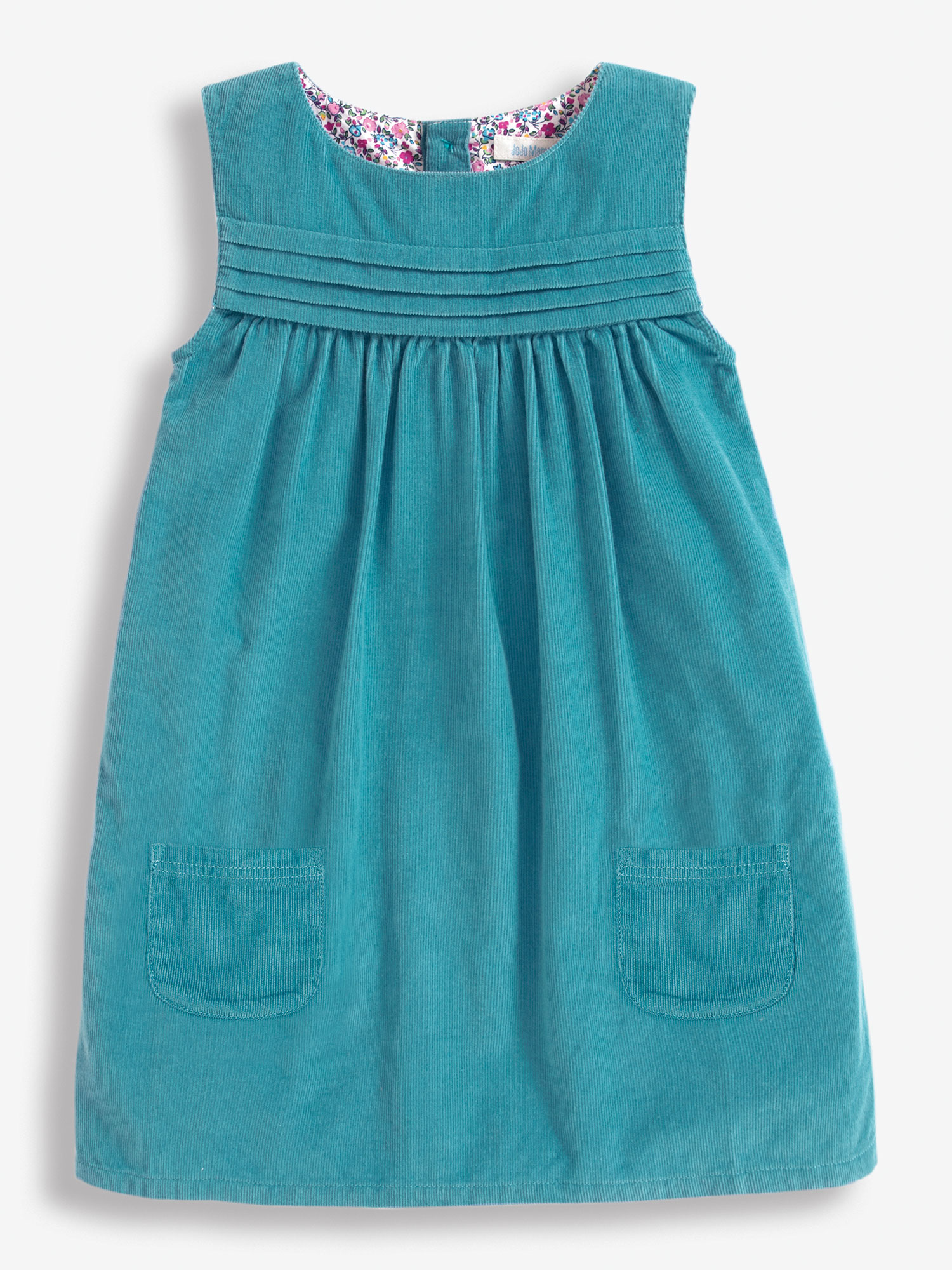 Girls' Cord Pinafore Dress