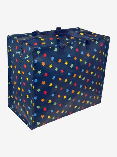 Star Print Enormous Storage Bag