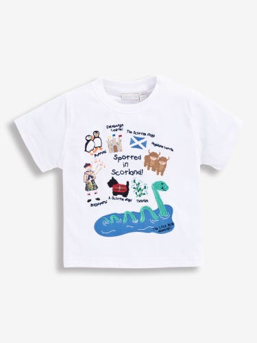 Kids' Spotted in Scotland T-Shirt
