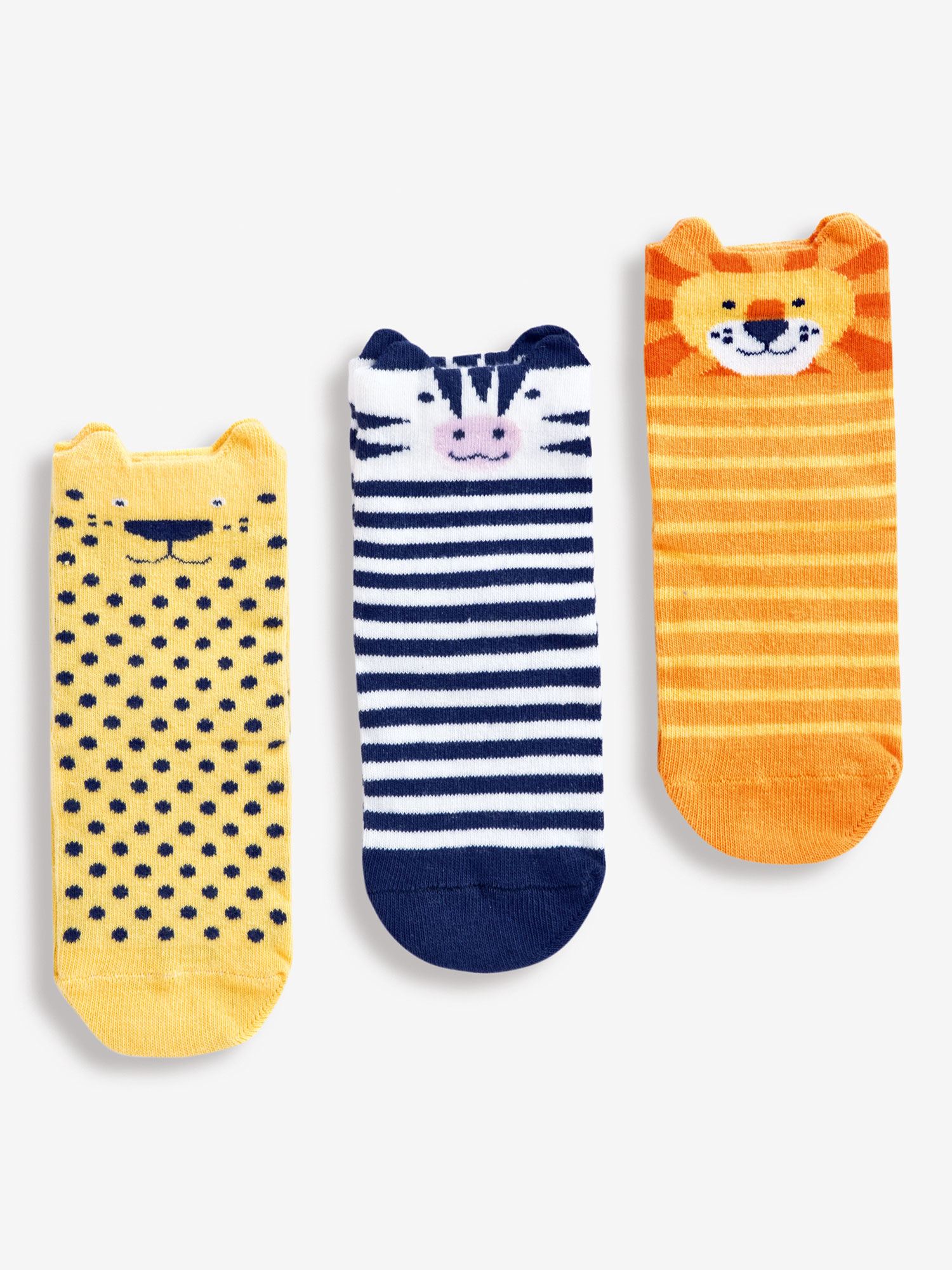 3-Pack Wild Animal Socks