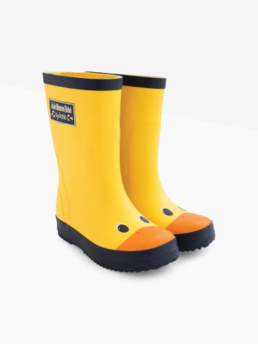 Yellow Duck Wellies